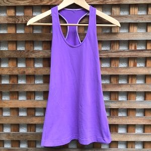 Lululemon Cool Racerback Tank Top Purple